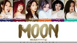 (G)I-DLE - 'MOON' Lyrics [Color Coded_Han_Rom_Eng]