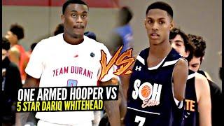 1 Armed Hooper Hansel Emmanuel vs 5 Star Dariq Whitehead!!