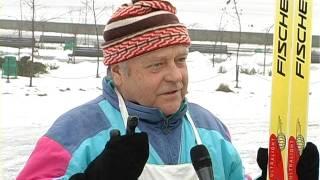 Я снимаю свой первый сюжет на Телеканале города Вышгород (телеоператор Андрей Казаков-Andre Fly)