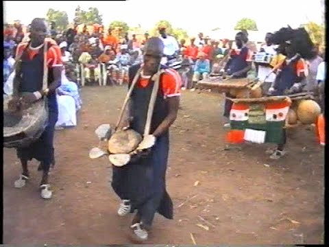 DOBA  DEMONSTRATION  DE BALAFON EN 2005  A GBALEKAHA VOL 2