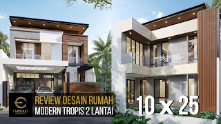 Video Mr. Steven Modern Style House 2 Floors Design - Surabaya
