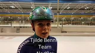 Talent Tjilde Bennis sterk in Tilburg