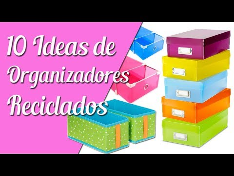10 Mejores Organizadores Reciclados - Ecobrisa