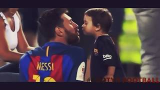 Messi Having Fun  With Thiago , Mateo And His Wife - Lovely Moments - 2017