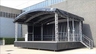 Stage trailer MOBILSTAGE ARC