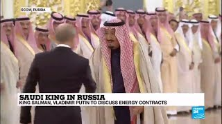 "Saudi King Salman meets Vladimir Putin in Russia: ""Oil is a giant factor here!"""