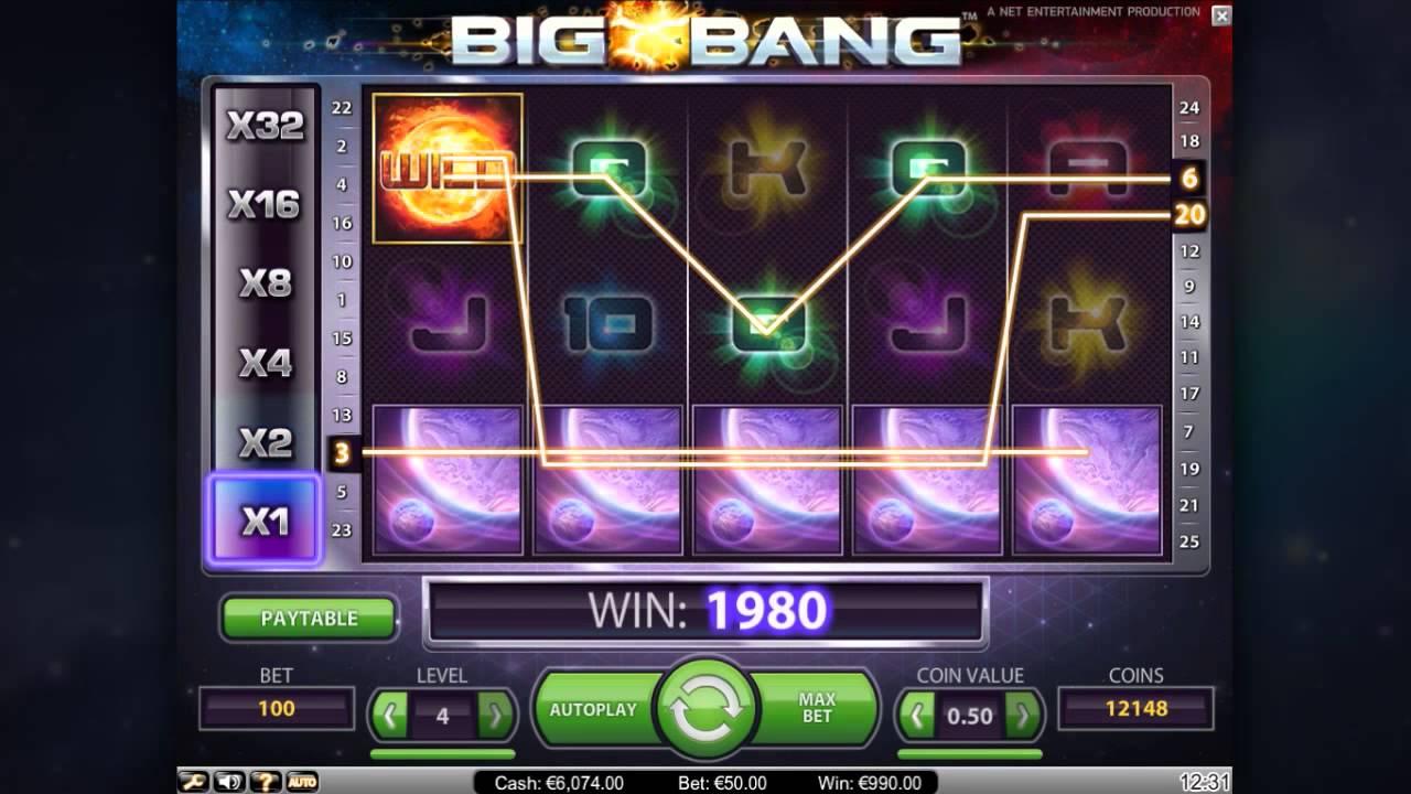 Big Bang från NetEnt