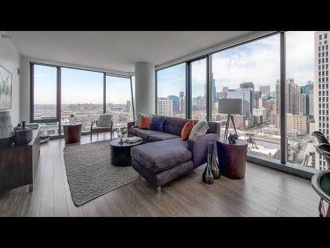A South Loop 1-bedroom Plan 1B-7 at The Paragon, a new, amenity-rich tower