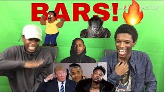"Azerrz ""Hit Rap Songs"" part 1 Reaction"