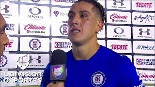 """Roco confesó que se le puso """"la piel de gallina"""" por el apoyo inconmensurable de la afición Azul"""