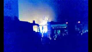 حريق فى محلات للملابس امام سنترال المنشيه 2