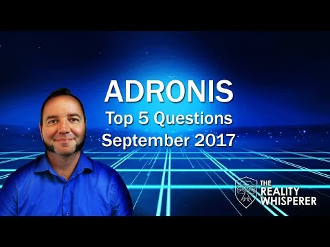 Image result for Adronis Top 5 Questions - September 2017