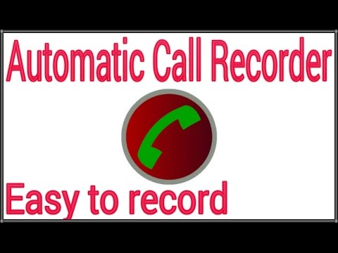 Automatic Call Recorder With A High Quality Software Mp3