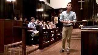 """Ben Platt Singing """"Flight"""""""