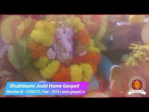 Shubhlaxmi Joshi Home Ganpati Decoration Video