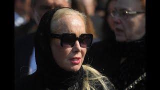 Вдова Кобзона удивила признанием спустя 40 дней после утраты