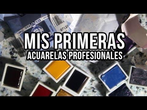 MIS PRIMERAS ACUARELAS PROFESIONALES