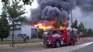 20 juni 2013 – Zeer grote uitslaande brand FIRE UP Oisterwijk