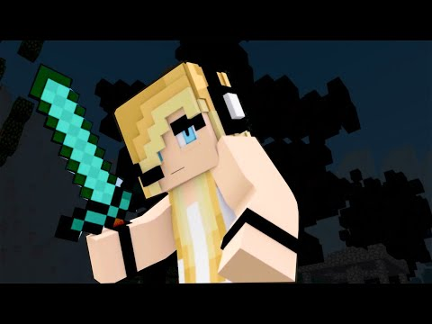 New Minecraft Song ♫ DIe For You ♫ Psycho Girl Ep. 18 / Minecraft Song and Animation Series
