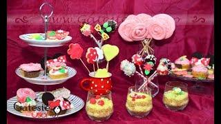 Candy Bar Pentru Petrecere De Fetita