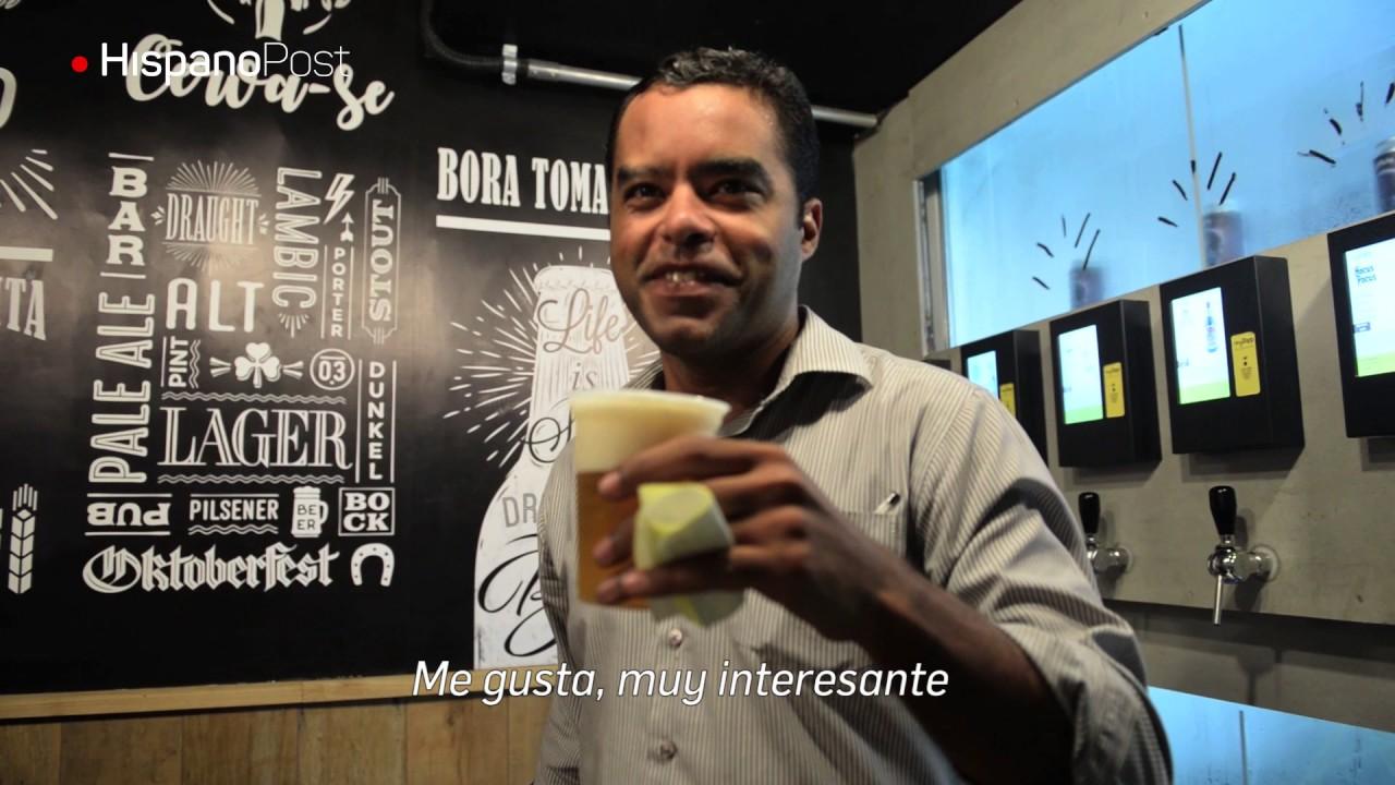 Self service de cerveza