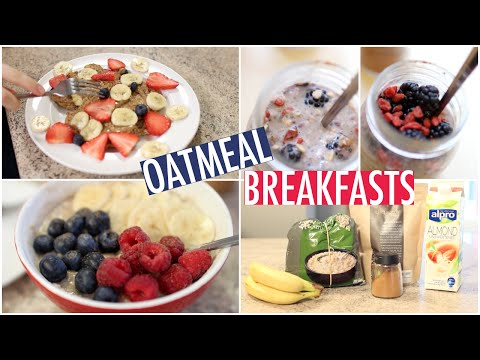 Video Quick & Healthy Oatmeal Breakfast Ideas!