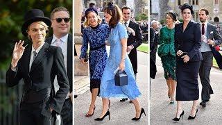 Fashion verdict: Guests