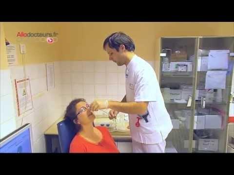 La crème pour la tête sensible du membre