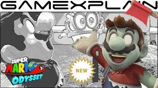 NEW Zombie Mario DLC Costume & 3 Filters in Super Mario Odyssey