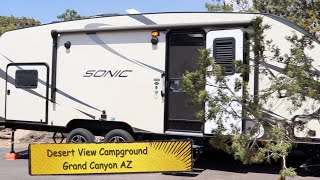 Desert view campground, Grand Canyon National Park