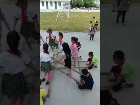 Китайские школьники на перемене