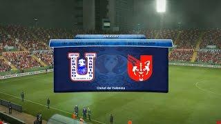 preview picture of video 'GAMEPLAY  UNI. GERARDO BARRIOS USULUTAN VRS UNI. DE EL SALVADOR PES13'