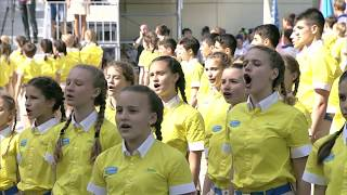 IMPRESSIVE: Russian Children Proudly Sing the Russian Anthem [ENG SUBS]