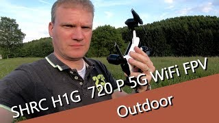 SHRC H1G 720 P 5G WiFi FPV GPS Follow Me RC Drone - Outdoor