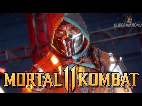 "The Online SCORPION- Mortal Kombat 11: ""Johnny Cage"" Gameplay"