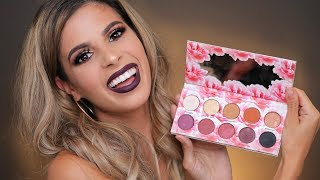 I CREATED MY OWN MAKEUP LINE | CAT'S PAJAMAS PALETTE REVEAL & MAKEUP TUTORIAL - Video Youtube