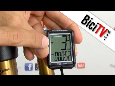 Cómo instalar un cuentakilómetros de bicicleta