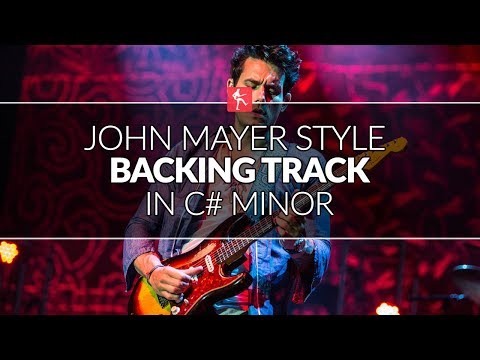 John Mayer Style Backing Track in C#m