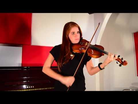 """Violinist: Valeria Ortega-Palacio/Tango : """" El choclo """" - Carlos Gardel."""