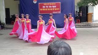 Múa Việt Nam trong tôi là 11C3 THPT Trần Quốc Đại 2017