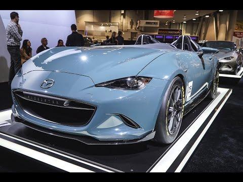 2016 Mazda MX-5 Miata Concepts - SEMA 2015