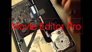 SSD Einbau Macbook Pro Samsung MZ-75E250B/EU EVO 850 interne SSD 250GB