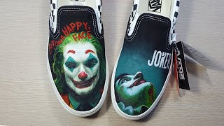 [painting Shoes] Joker Hand Painting (신발에 조커 그리기)