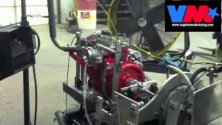 12hp Kohler stock block engine dyno run: a.k.a. Little Red Riding Hood