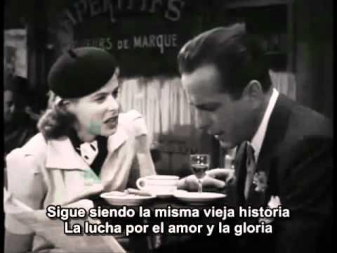 Casablanca. Trailer con Humphrey Bogart e Ingrid Bergman. (Subtitulado) ©E.G.