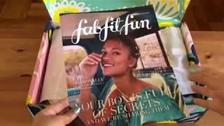 FabFitFun Spring Editor's Box 2019 - UNBOXING