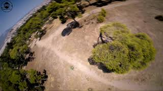 Last flight with analog! Where else; In the FPV Temple!