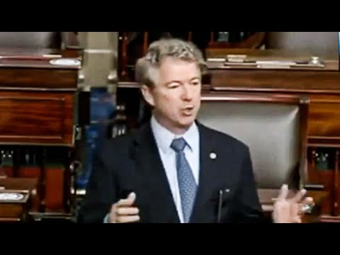 Rand Paul Freaks Out Over Americans Getting ANY Extra Money During Pandemic