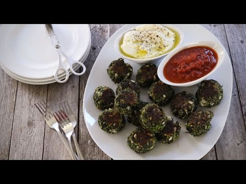 How to Make Herbed Spinach and Kale Balls | Appetizer Recipes | Allrecipes.com