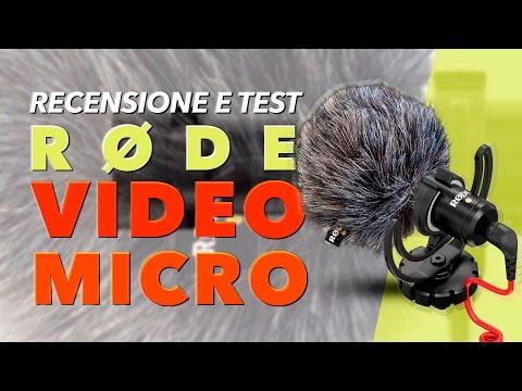 Miglior MICROFONO low budget: RØDE VIDEOMICRO [Recensione e Test]